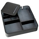 Black & grey valet tray - Product number 9774726