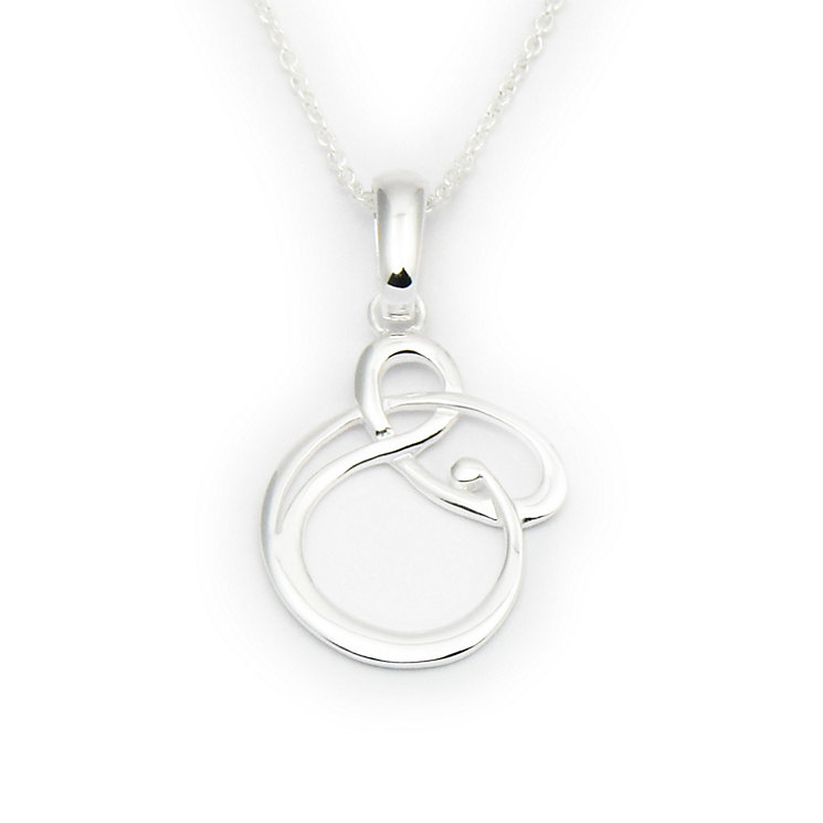 Ortak Silver Entwined Pendant - Product number 9778934