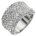 Clear Crystal Band Ring - Size Small - Product number 9779272