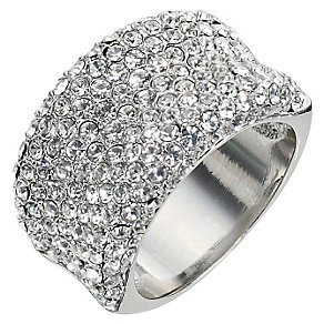 Clear Crystal Band Ring - Size  Medium - Product number 9779299