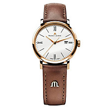 Maurice Lacroix Eliros rose gold-plated brown strap watch - Product number 9782109