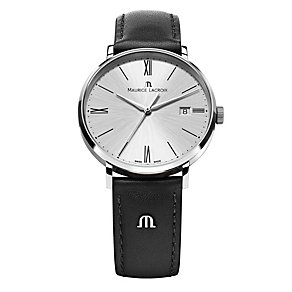 Maurice Lacroix Eliros stainless steel black strap watch - Product number 9782427
