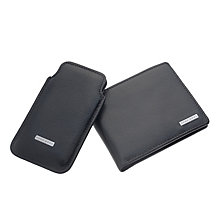 Hugo Boss Giovis leather iphone case & wallet set - Product number 9786236