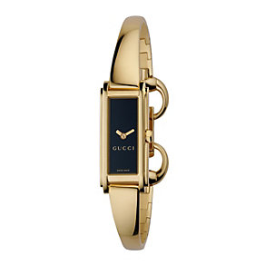 Gucci G Line ladies' gold plated  bangle watch - Product number 9788360