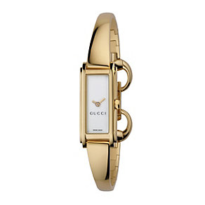 Gucci G Line ladies's gold plated bangle watch - Product number 9788379