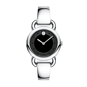 Movado Linio stainless steel diamond bracelet watch - Product number 9798102