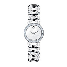 Movado ladies' mother of pearl diamond bracelet watch - Product number 9798161