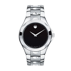 Movado Luno Sport men's stainless steel bracelet watch - Product number 9798226