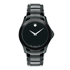 Movado Master men's ion plated watch - Product number 9798285