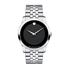Movado Museum men's stainless steel bracelet watch - Product number 9798307