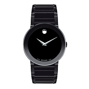 Movado Sapphire men's stainless steel bracelet watch - Product number 9798358
