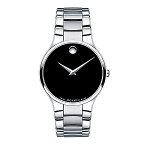 Movado Serio men's stainless steel bracelet watch - Product number 9798382
