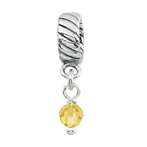 Charmed Memories Swarovski Element November Bead - Product number 9802274