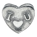 Charmed Memories Sterling Silver I Love You Bead - Product number 9802282