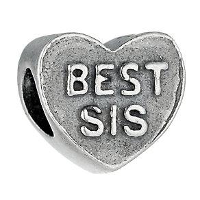 Charmed Memories Sterling Silver Best Sis Bead - Product number 9802312