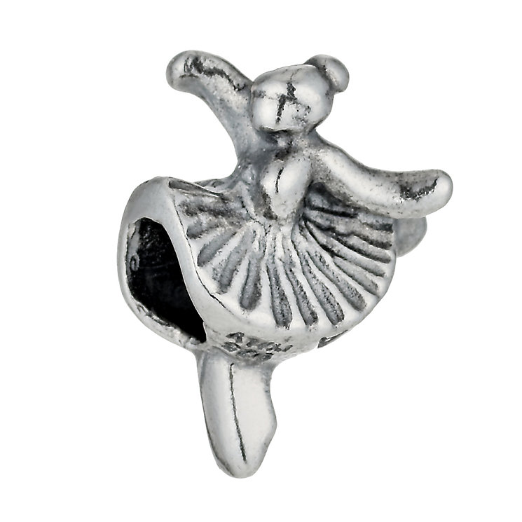 Charmed Memories Sterling Silver Ballerina Bead - Product number 9802339