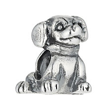 Charmed Memories Sterling Silver Dog Bead - Product number 9802495