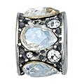 Charmed Memories Sterling Silver Crystal Mosaic Bead - Product number 9803106