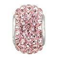 Charmed Memories Sterling Silver Pink Crystal Bead - Product number 9803254