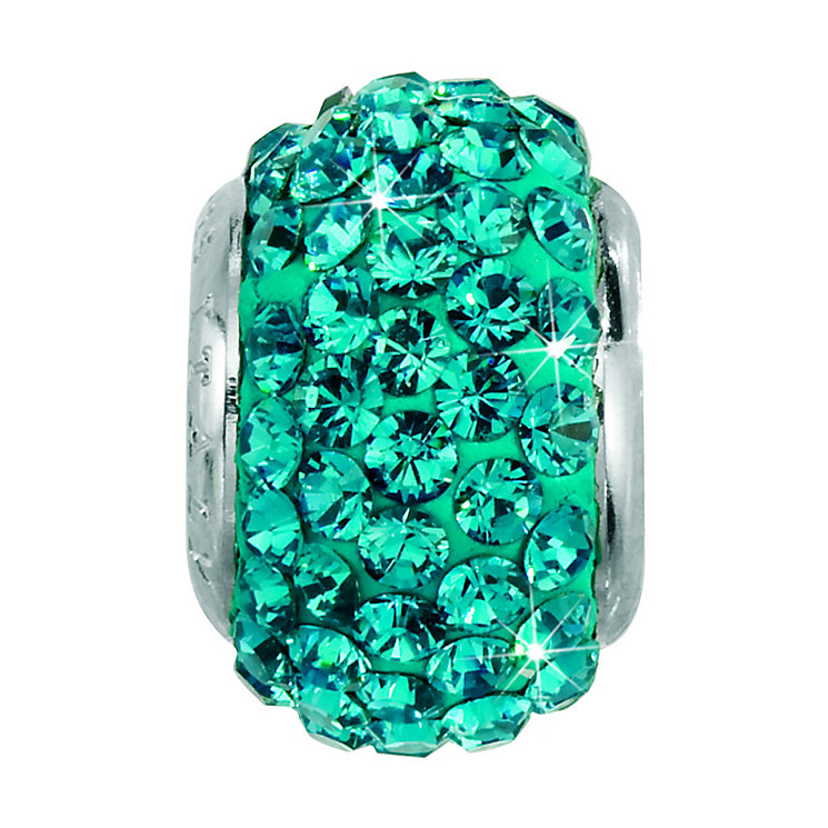 Charmed Memories Turquoise Crystal Bead - Product number 9803297