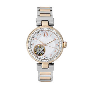 Project D London ladies' two colour bracelet watch - Product number 9804900
