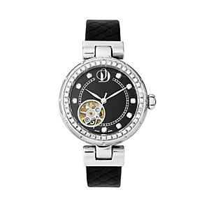 Project D London ladies' black strap watch - Product number 9804927
