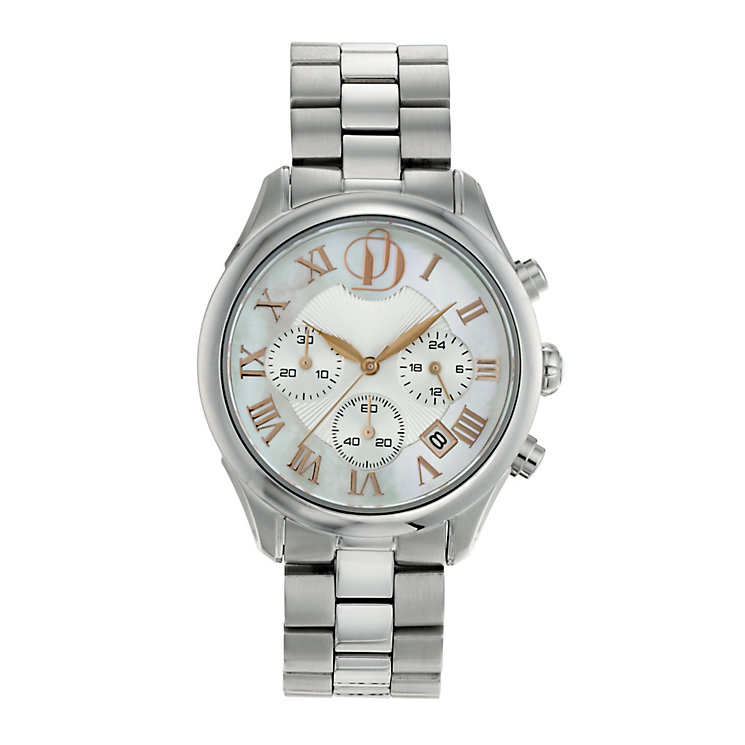 Project D London ladies' stainless steel bracelet watch - Product number 9804943