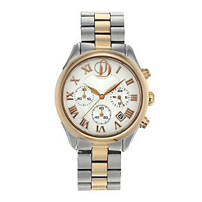 Project D London ladies' two colour bracelet watch - Product number 9804951
