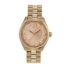 Project D London ladies' rose gold plated bracelet watch - Product number 9805028