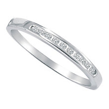 9ct white gold diamond eternity ring - Product number 9806474