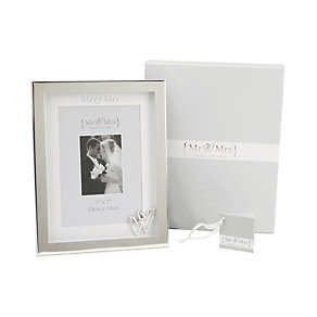 "Special Memories Mr & Mrs 5""x7"" Photo Frame - Product number 9807713"