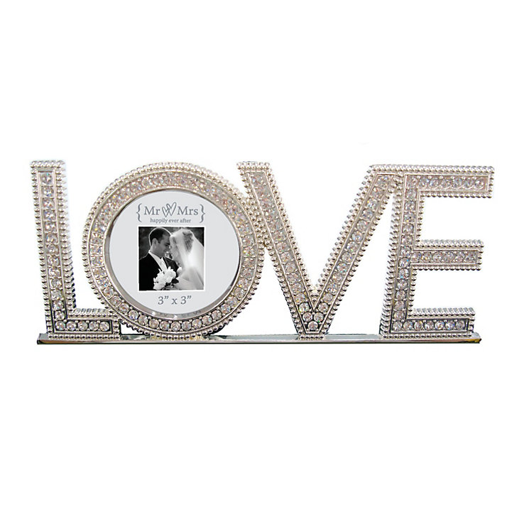 Special Memories Mr & Mrs Love Letter Frame - Product number 9809449