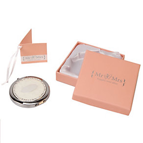 Special Memories Mr & Mrs Compact Mirror - Product number 9809465