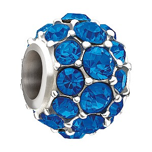 Chamilia Make A Wish blue Swarovski element bead - Product number 9810161