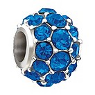 Chamilia Blue Splendour with Swarovski crystal elements bead - Product number 9810161