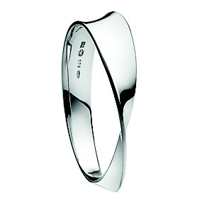 Georg Jensen Mobius sterling silver bangle small - Product number 9811281