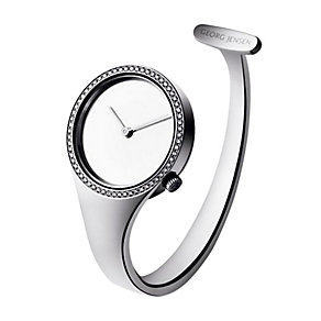 Georg Jensen Vivianna ladies' diamond open bangle watch - Product number 9811370
