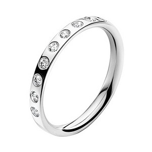 Georg Jensen Wedding Rings Georg Jensen Magic 18ct White Gold Diamond Band Ring
