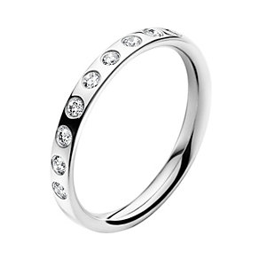 Georg Jensen Magic 18ct white gold diamond band ring - Product number 9812962