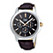 Pulsar Men's Multi-dial Brown Leather Strap Watch - Product number 9813853