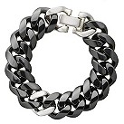 Amanda Wakeley black ceramic curb bracelet - Product number 9815821