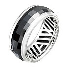 Amanda Wakeley black faceted ceramic ring - Product number 9822313