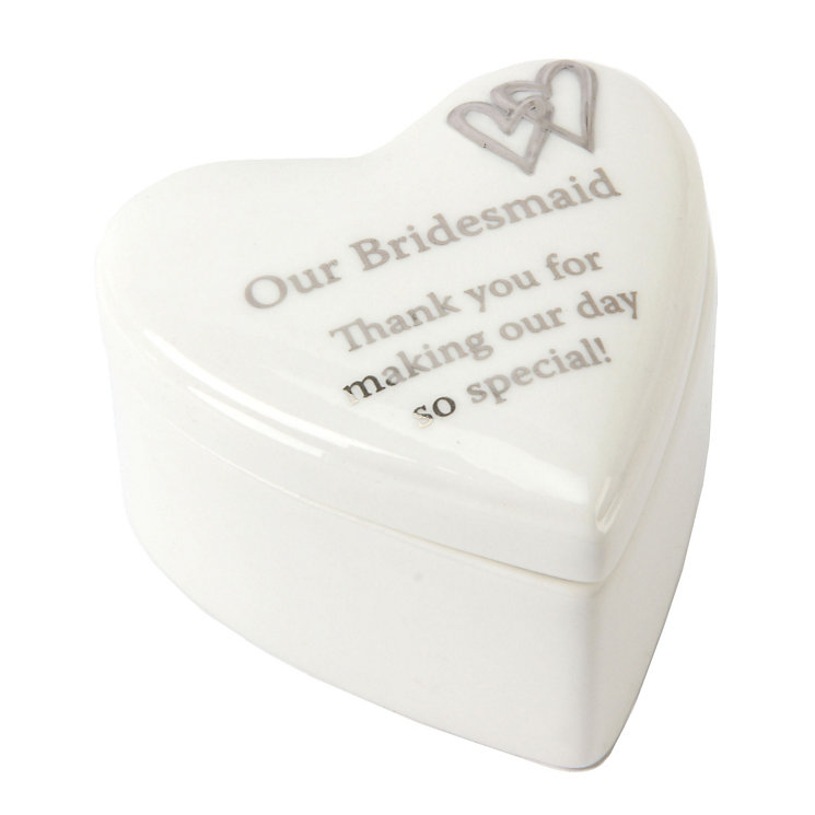 Special Memories Bridesmaid Trinket Box - Product number 9822739