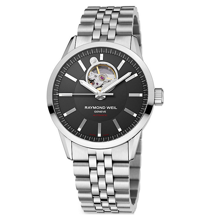 Raymond Weil Geneve men's stainless steel bracelet watch - Product number 9823786