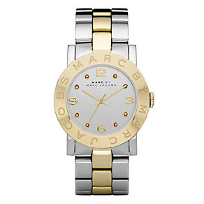 Marc Jacobs Ladies' Two Colour Stone Set Bracelet Watch - Product number 9825150