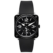 Bell & Ross Ceramic men's 39mm black ceramic strap watch - Product number 9825444