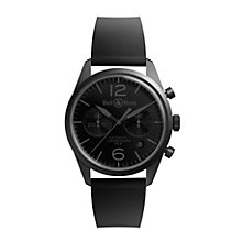Bell & Ross Phantom men's ion-plated chronograph strap watch - Product number 9825541
