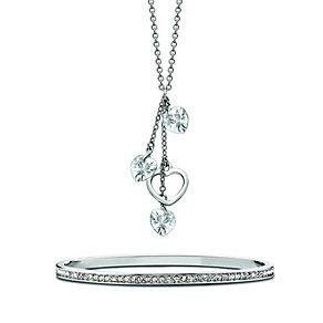 Radiance With Swarovski Crystal Bangle & Necklace Set - Product number 9868682