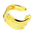 Ted Baker paint smudge gold ring - Product number 9890793