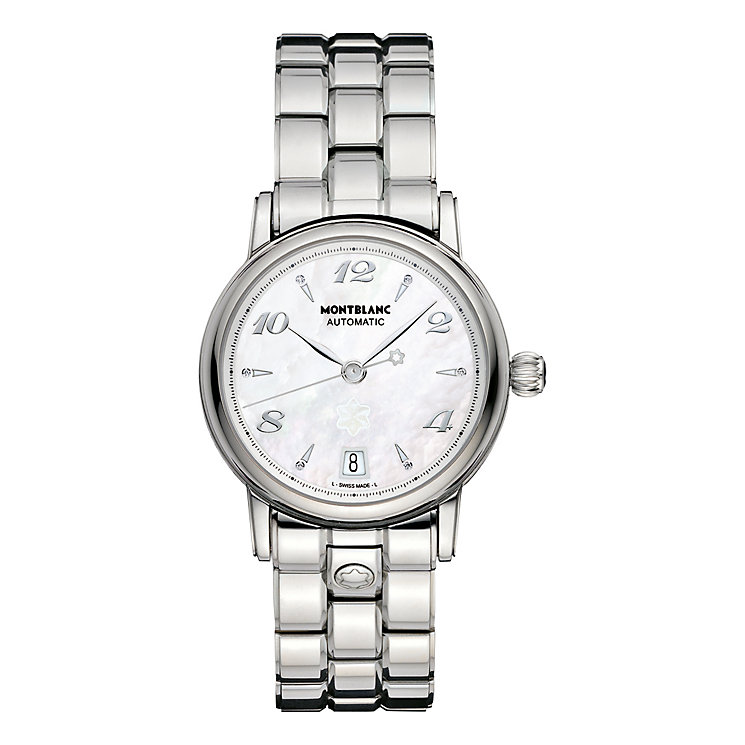 Montblanc ladies' stainless steel bracelet watch - Product number 9891927
